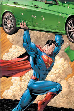 Juliste  Superman - super powerful