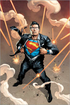 Juliste  Clark Kent is Superman
