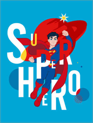 Juliste  Superman - Superhero