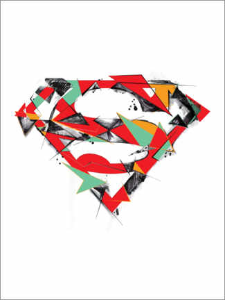 Juliste  Superman Logo Shield