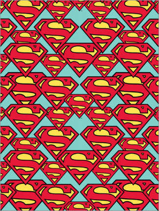 Juliste  Superman logos