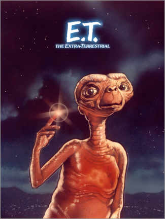 Juliste  E.T. the Extra-Terrestrial