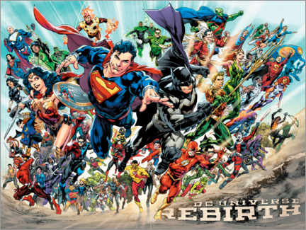 Juliste  Justice League Rebirth