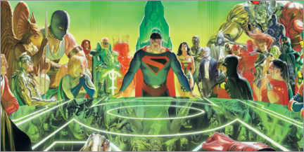 Juliste  Justice League Kingdom Comet