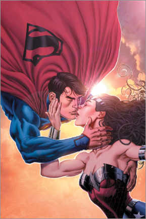 Juliste  Superman and Wonder Woman