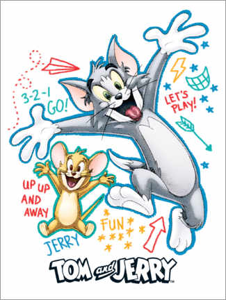 Sisustustarra  Tom and Jerry Fun Time