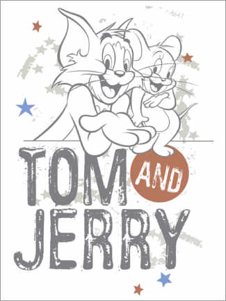 Juliste  Tom and Jerry Stars