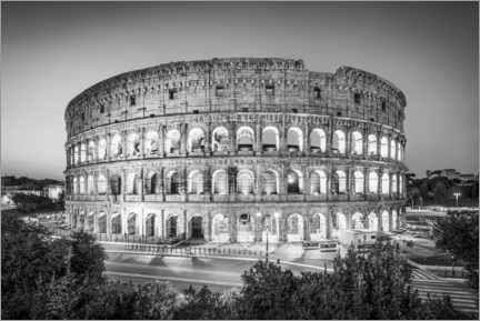 Akryylilasitaulu  The Colosseum in Rome, Italy - Jan Christopher Becke