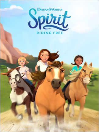 Juliste  Spirit Riding Free
