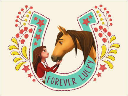 Canvas-taulu  Forever Lucky