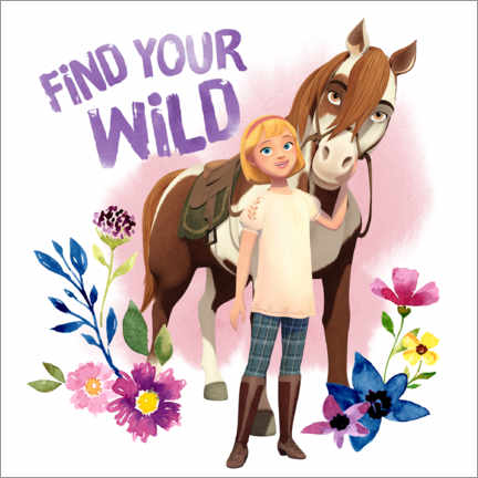 PVC-taulu  Find your wild