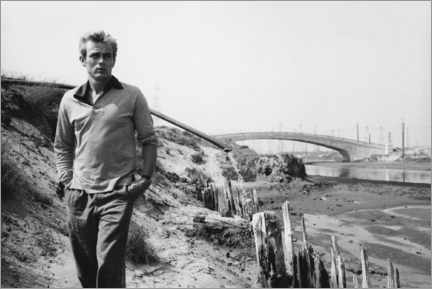 Canvas-taulu  James Dean - Sanford Roth