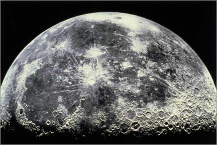 Juliste  Moon - NASA