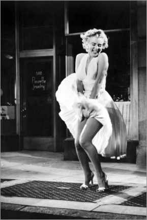 Juliste  Marilyn - The Seven Year Itch iconic pose - Celebrity Collection