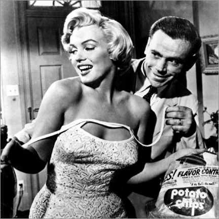 Akryylilasitaulu  The Seven Year Itch - Potato Chips - Celebrity Collection