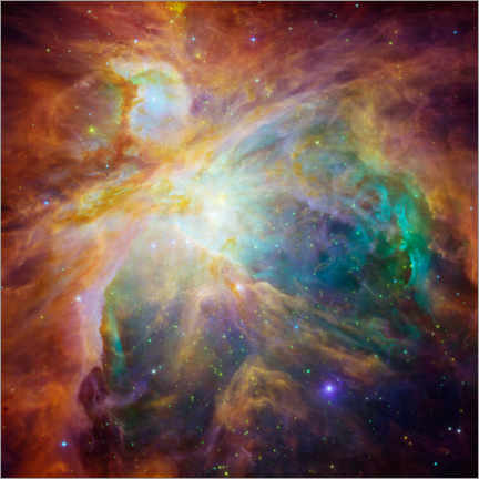 Juliste  Orion Nebula - NASA