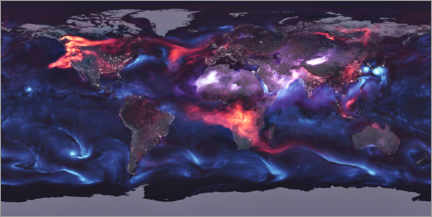 Alumiinitaulu  Global distribution of aerosols - NASA
