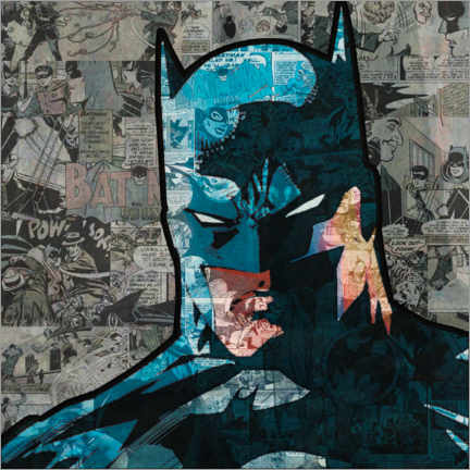 Juliste  Batman Pop Art Comic