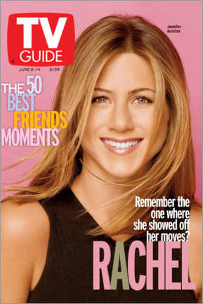 Canvas-taulu  Rachel - Friends - TV Guide