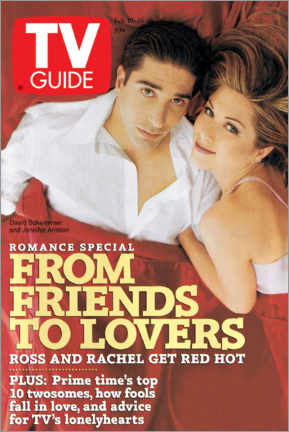 Puutaulu  Ross and Rachel - Friends to lovers - TV Guide