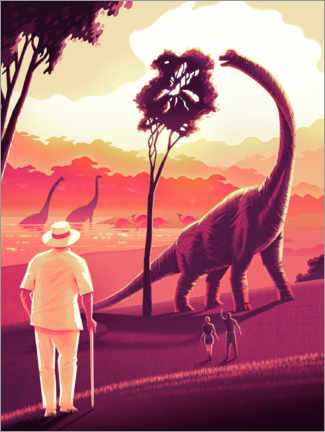 Juliste  Welcome to Jurassic Park