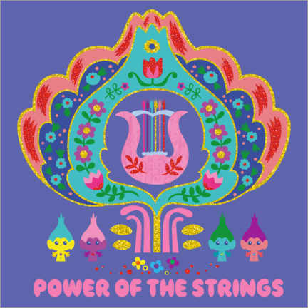 Canvas-taulu  The power of strings
