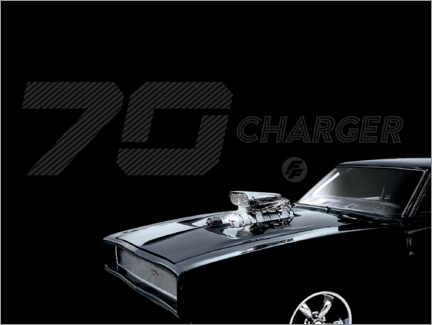 Canvas-taulu  Dodge Charger