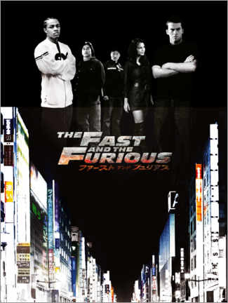 Akryylilasitaulu  The Fast and the Furious - Tokyo drift