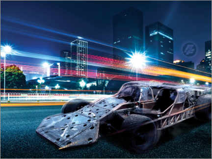 Sisustustarra  The Fast and the Furious - City Lights
