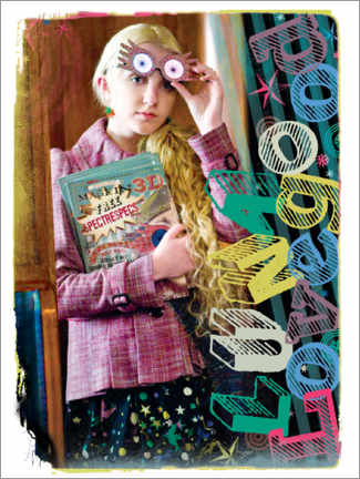 Juliste  The Half-Blood Prince - Luna Lovegood