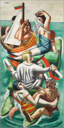 Juliste  The boat - Max Beckmann