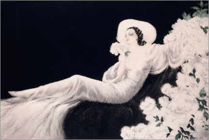 Puutaulu  Loves the bloom - Louis Icart