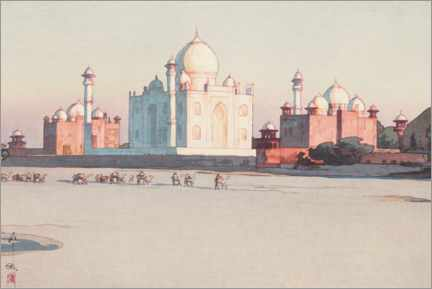 Juliste Directions to Agra, No. 3.