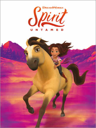 Puutaulu  Spirit Untamed - Ride