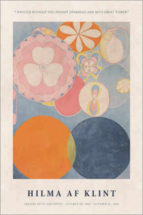 Juliste  Hilma af Klint - With great power - Museum Art Edition