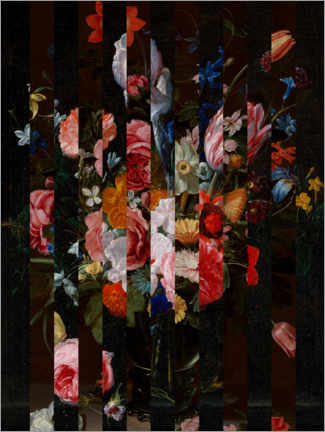 Juliste  Shifted Flemish Bouquet I - Jacob Green