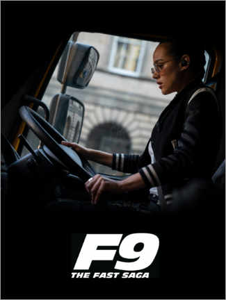 Juliste  F9 - Ramsey at the wheel
