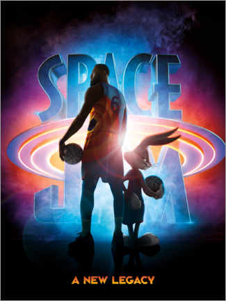 Canvas-taulu  Space Jam 2 - A New Legacy