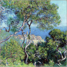 Juliste  Bordighera - Claude Monet