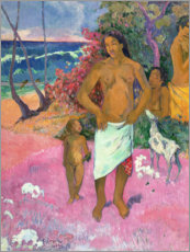 Sisustustarra  A Walk by the Sea - Paul Gauguin