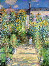 Juliste  Monet's Garden, Vetheuil - Claude Monet
