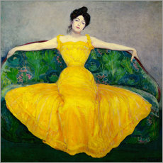 Galleriataulu  Lady in a yellow dress - Maximilian Kurzweil