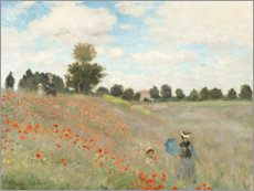 Canvas-taulu  Unikot - Claude Monet