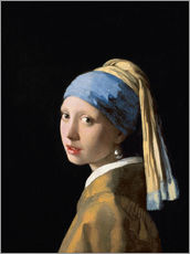 Sisustustarra  Girl with the Pearl Earring - Jan Vermeer