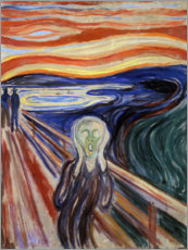 Canvas-taulu  Huuto - Edvard Munch
