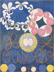 Canvas-taulu  The Ten Largest, No. 1, Childhood - Hilma af Klint