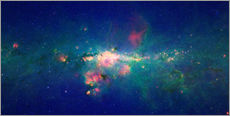 Sisustustarra  Milky Way (infrared image) - NASA