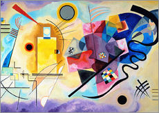 Galleriataulu  Yellow, red and blue - Wassily Kandinsky