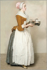 Galleriataulu  The Chocolate Girl - Jean Etienne Liotard