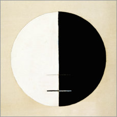Juliste  No. 3a. Buddha's Standpoint in Worldly Life - Hilma af Klint
